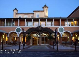 Messardière Golf Cup, entrée du Château Hôtel de la Messardière