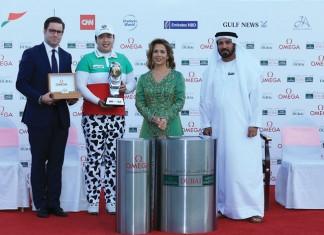 Feng remporte l'Omega Dubaï Ladies Masters 2015