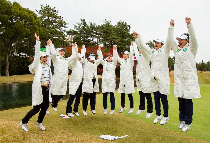 L'équipe japonaise remporte le premier The Queens presented by Kowa