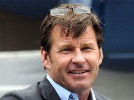 Sir Nick Faldo commentaire Ryder 2016