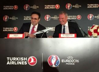 Turkish Airlines partenaire de l'Euro 2016