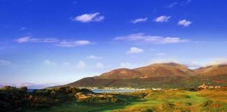 Vue du Royal County Down hole #1, Irlande du Nord