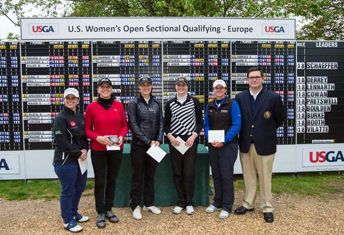 Schaeffer Derrey qualifiées US women's Open