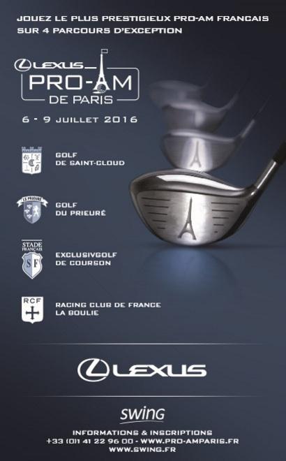 Affiche 15e Lexus Pro-Am de Paris