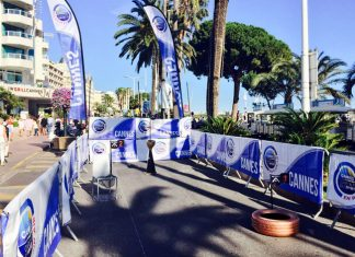 Cannes street golf