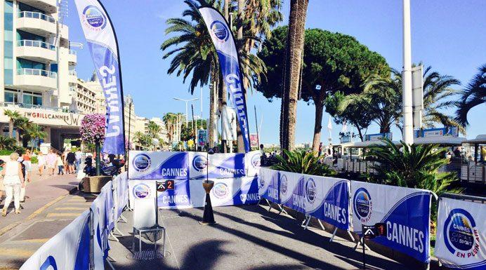 Cannes street golf