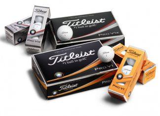 Balles titleist Pro V1 et Pro V1x