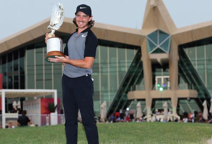 Tommy Fleetwood remporte le Abu Dhabi HSBC Championship