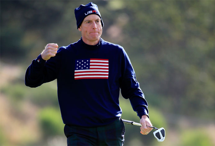 Jim Furyk Capitaine USA Ryder Cup 2018