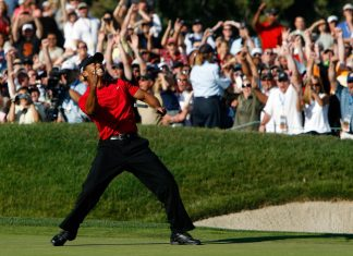 Tiger Woods Torrey Pines 14e Majeur