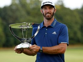 Dustin Johnson Northern Trust Open
