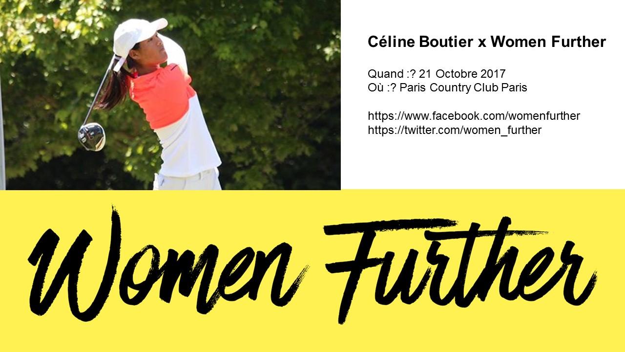 Céline Boutier x Women Further