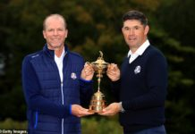 Steve Stricker et Padraig Harrington