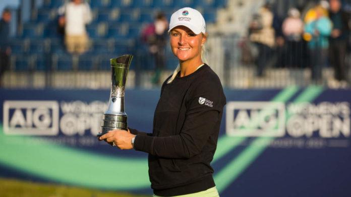 Anna Nordqvist AIG Women's Open